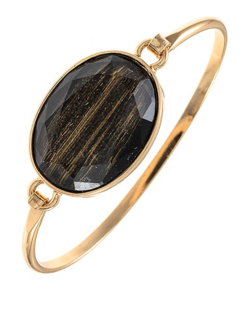 What A Gem Black Bracelet