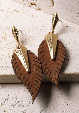 Luxe Leaf Earrings
