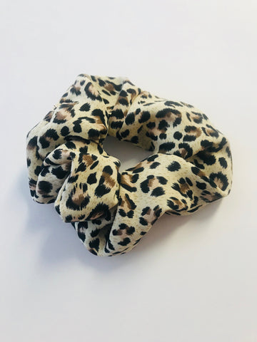 Wild Side Leopard Scrunchie