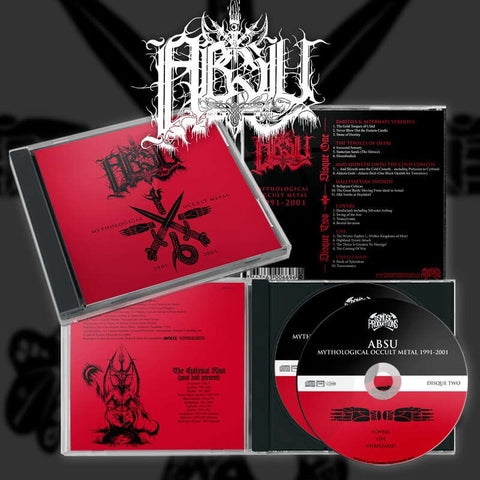 Absu - Mythological Occult Metal: 1991-2001 DCD