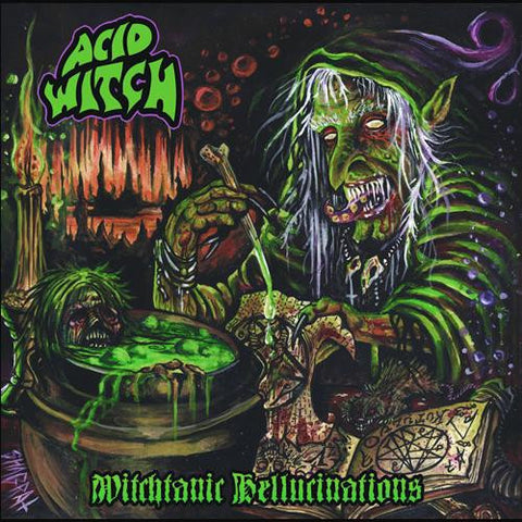 Acid Witch - Witchtanic Hellucinations Digi