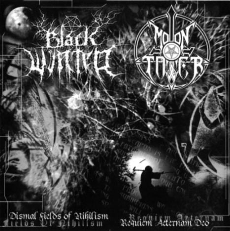 Black Winter/Moontower - Dismal Fields of Nihilism/Requiem Aeternam Deo Split CD