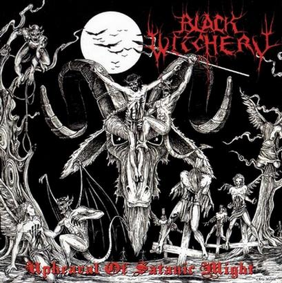 Black Witchery - Upheaval of Satanic Might Gatefold LP