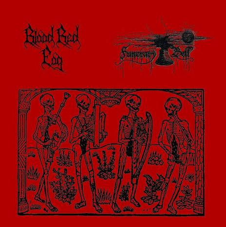 Blood Red Fog/Funerary Bell - Split CD