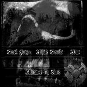 Dark Fury/White Devils/War - Alliance in Hate Split CD