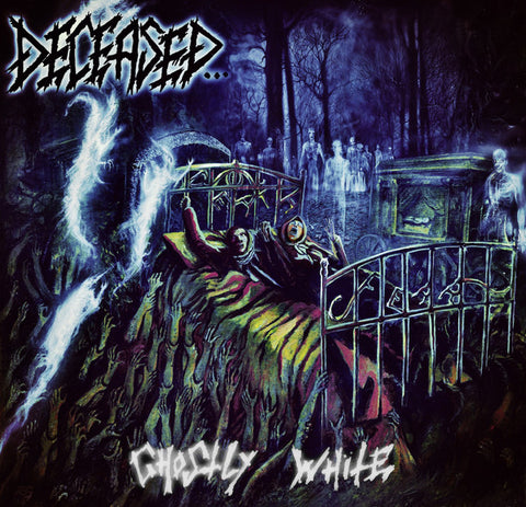 Deceased - Ghostly White Gatefold DLP