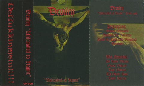 Devilry - Unleashed to Hunt Cassette