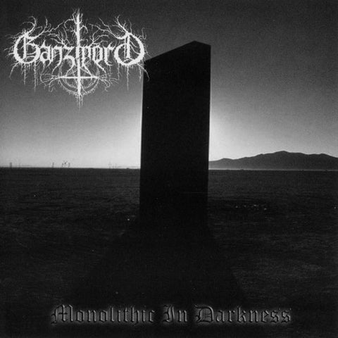 Ganzmord - Monolithic in Darkness CD