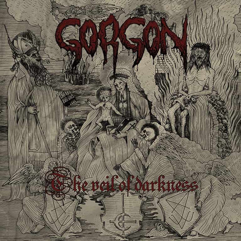 Gorgon - The Veil of Darkness CD