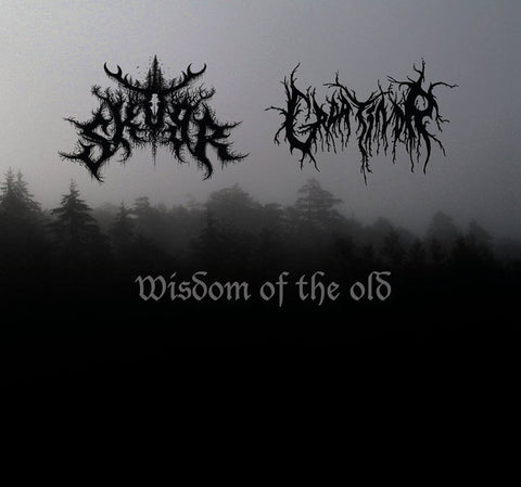 Graatindr/Skogr - Wisdom of the Old Split CD