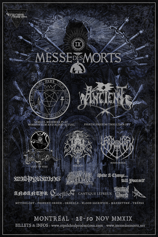 Messe des Morts IX - Psaume I (29 nov.) - PRESALES OVER, PLACES AT THE DOOR