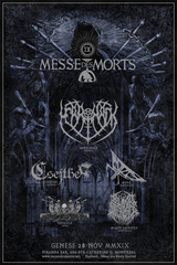 Messe des Morts IX - Genèse (28 nov.) 5 PLACES LEFT|Messe des Morts IX - Genèse (28 nov.) 5 PLACES RESTANTES