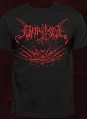 Baptism - Red Logo / Messe des Morts VII Shirt