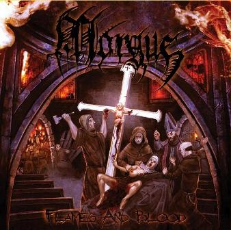 Morgue - Flames and Blood CD