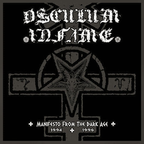 Osculum Infame - Manifesto from the Dark Age CD