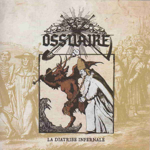 Ossuaire - La Diatribe Infernale CD