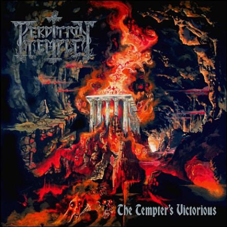 Perdition Temple - The Tempter's Victorious CD