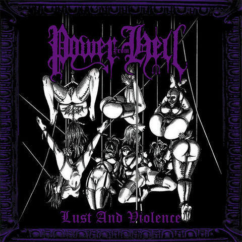 Power From Hell - Lust and Violence CD