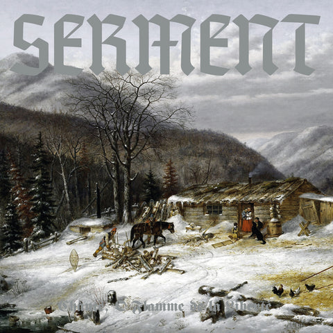 Serment - Chante, Ô Flamme de la Liberté LP (WHITE/BLUE)