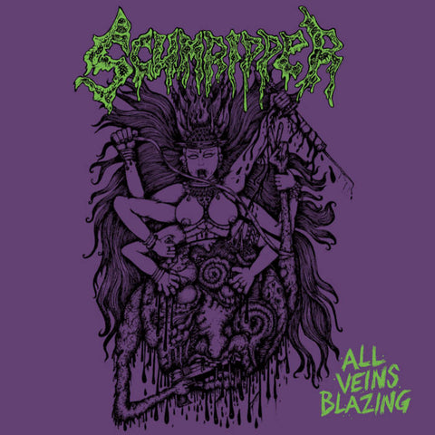 Scumripper - All Veins Blazing CD