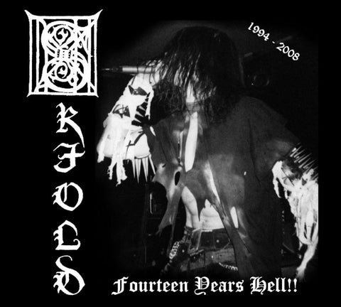 Skjold - Fourteen Years Hell! CD