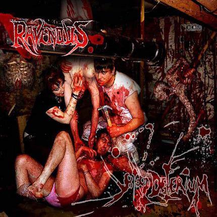 The Ravenous - Blood Delirium CD