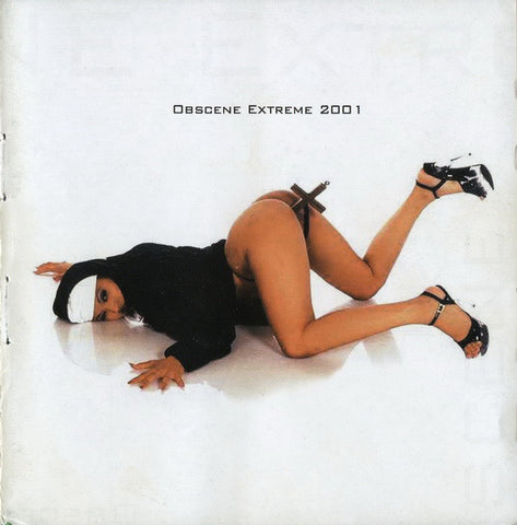 V/A - Obscene Extreme 2001 compilation CD