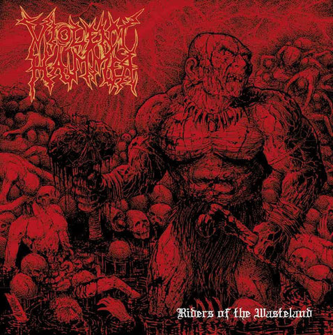 Violent Hammer - Riders of the Wasteland CD