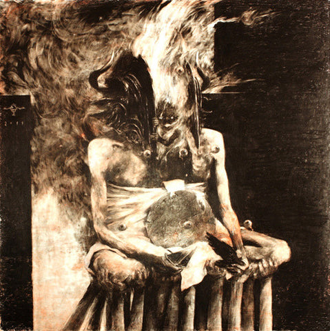 Wrathprayer - The Sun of Moloch: The Sublimation of Sulphur's Essence Which Spawned Death and Life CD