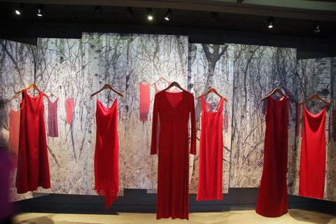 The Red Dress Project Canadian Museum for Human Rights Winnipeg