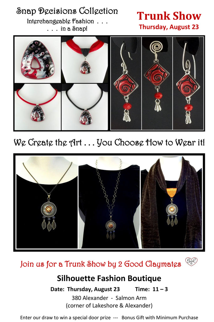 Interchangeable Jewelry Trunk Show