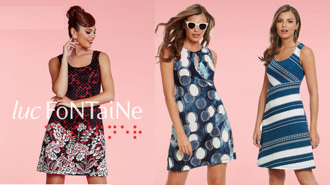 Luc Fontaine Canadian made women's clothing fashions
