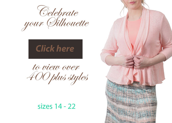Canadian made women's clothing plus size designer fashions
