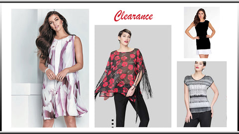 Canadian made women's fashions on sale