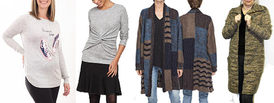 Sweaters on Sale - use discount code SW40