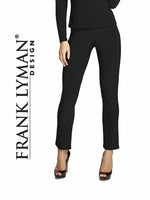 Frank Lyman Pull on Black Pants
