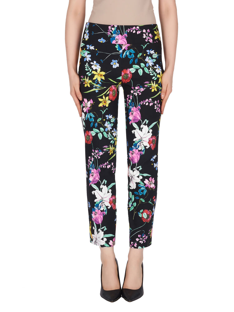 Joseph Ribkoff Multi Floral Pant Size 2 ONLY