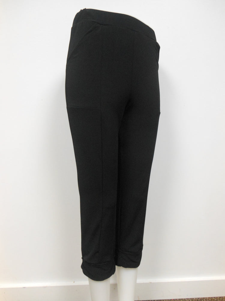 Pretty Woman Pocket Capri, Black