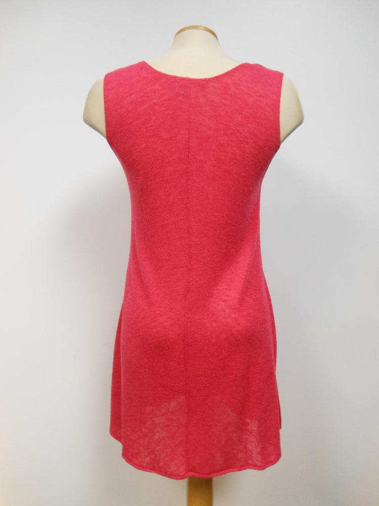 Pretty Woman Sleeveless Tunic Red