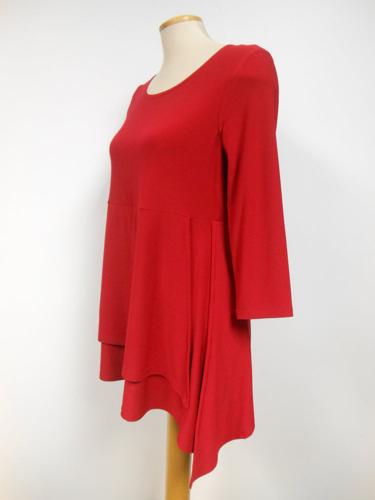 Pretty Woman Tunic, Red