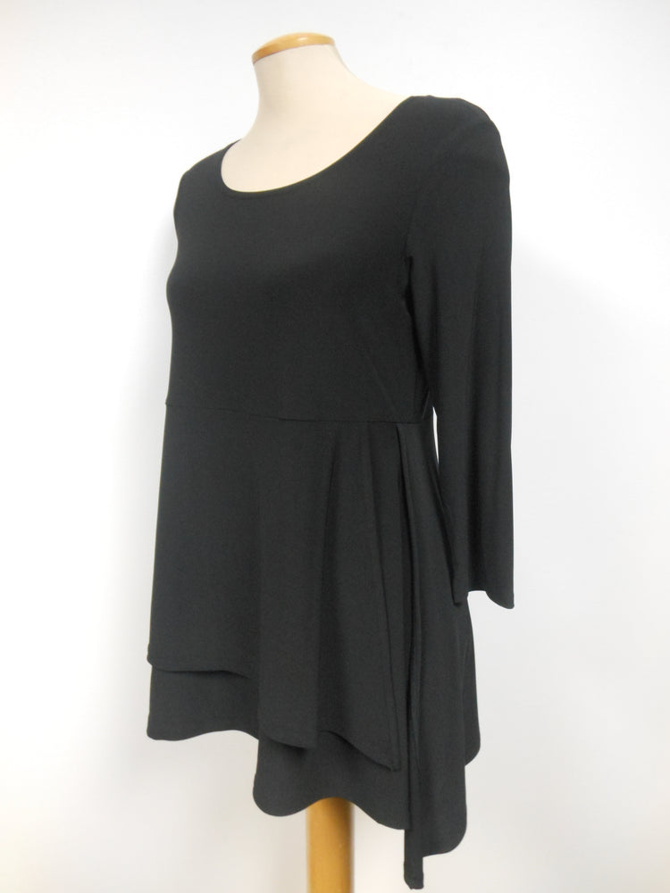 Pretty Woman Tunic, Black