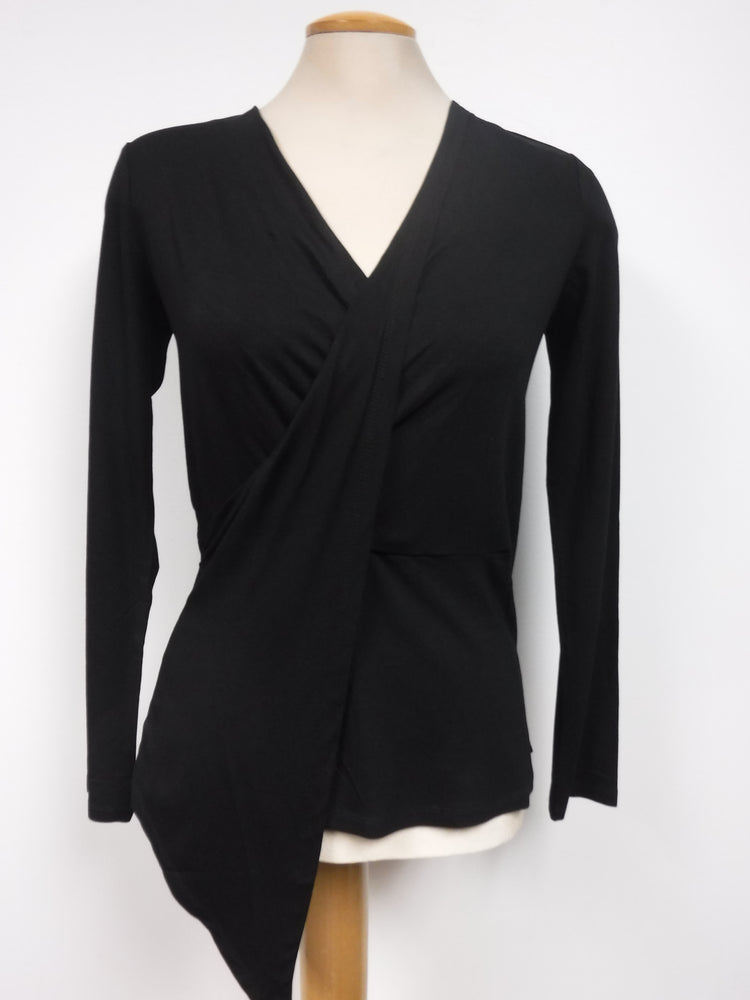 Crossover Top, Black