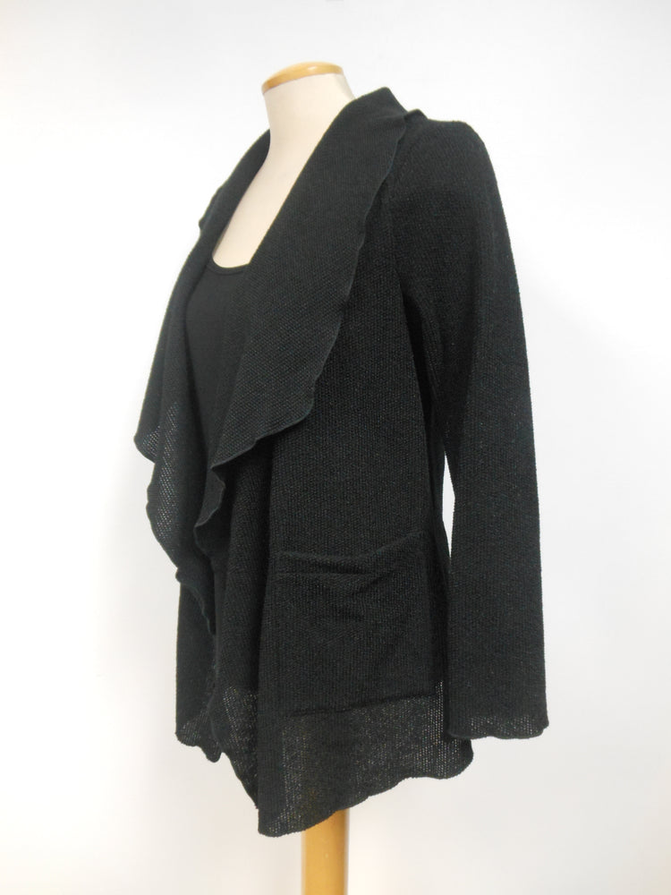 Pretty Woman Black Pocket Shrug