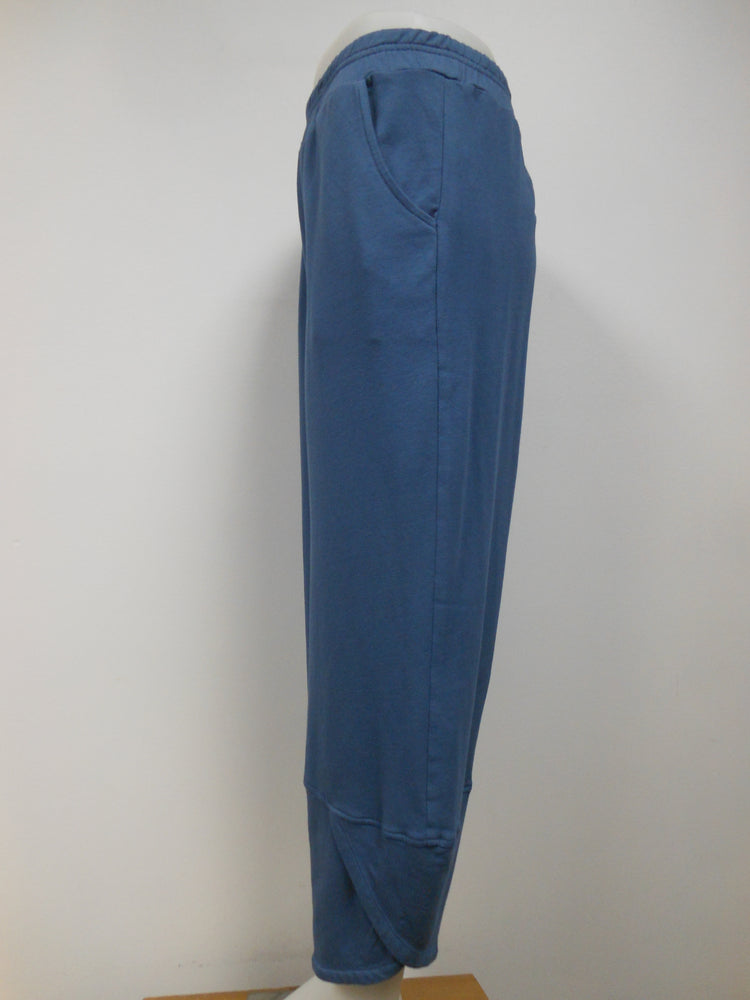 French Terry Flood Pant, Cobalt Blue - 1 left size Large
