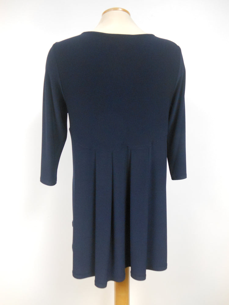 Joseph Ribkoff Navy Hi-low Tunic