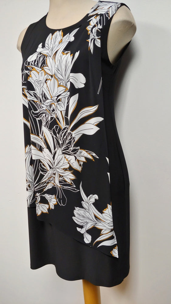 Black Floral Dress - small only