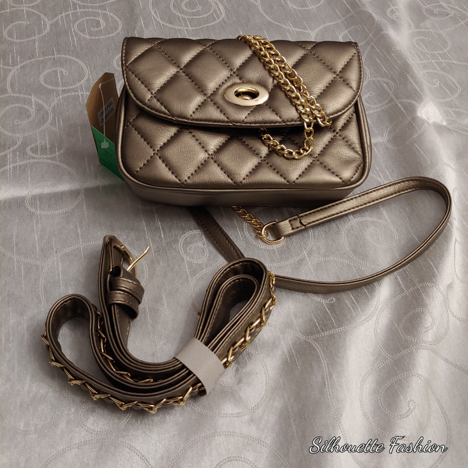 Quilted Crossbody Fanny Pack