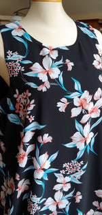 Black Floral Dress size XL only
