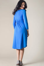 Cotton Modal Royal Cinch Waist Dress - size Small