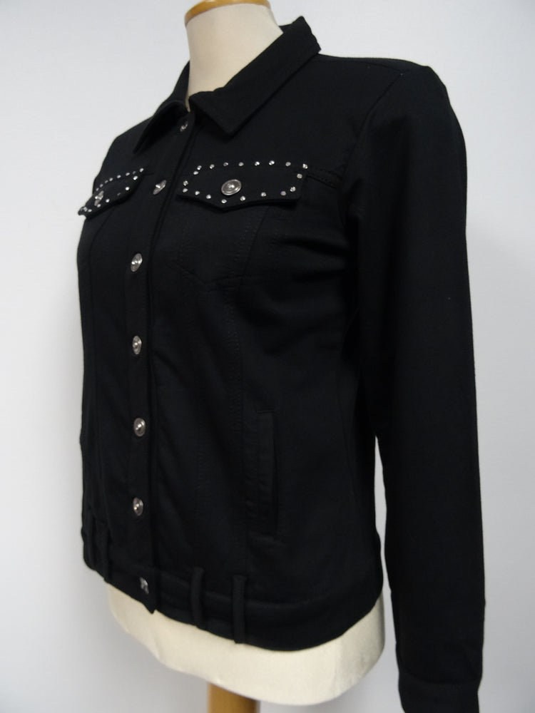Black Jacket with Sequin